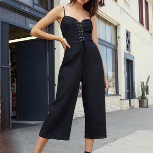 Kendall & Kylie | Lace-up Jumpsuit